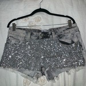 Daytrip sequined shorts from Buckle